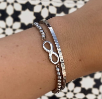 Jazz en Veerle armband