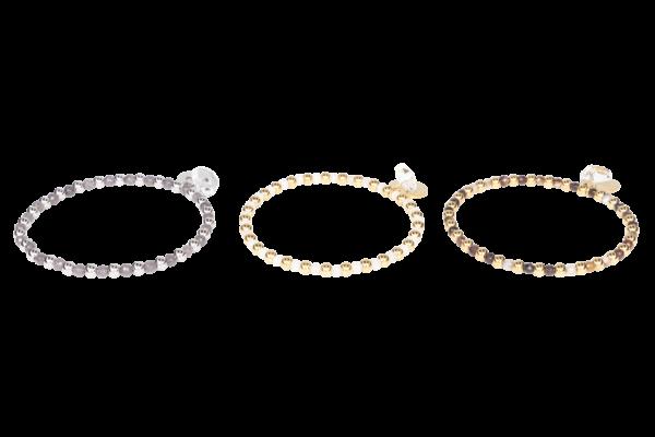 Armband met natuursteen. Deze mooie armband is gemaakt met natuurstenen kralen en stainless steel kralen.